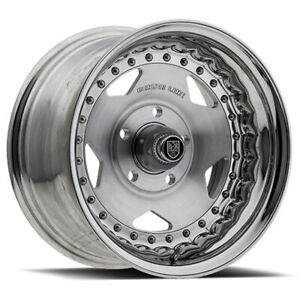 Centerline 000 Convo Pro 15x10 5x4 5 Offset 12 Polished brush Face qty Of 4