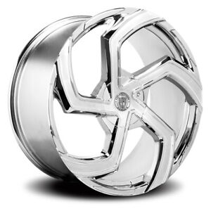 Lexani Swift Rim 24x10 6x135 6x139 7 Offset 30 Chrome quantity Of 4
