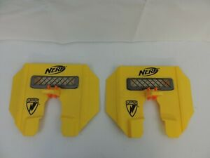 Nerf N Strike Tactical Shield Stampede ECS Blast Attachment Accessory LOT OF 2 $33.00
