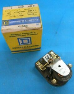 Square D 8501co 5 Ac Control Relay New Surplus