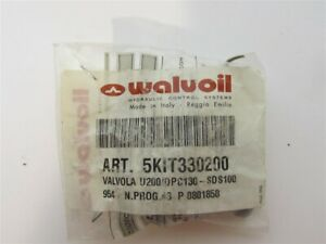 Walvoil 5kit330200 Valve U200 dpc130 Port Rv C w Anti cav 200 Bar