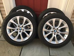 19 Bmw F15 X5 F16 X6 Sport Wheels With Goodyear Eagle Tires Tpm Style 450