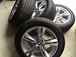 19 Bmw F15 X5 F16 X6 M Sport Wheels With Goodyear Eagle Tires Tpm Style 467m