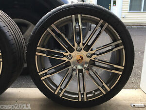 2015 Porsche 958 Cayman Boxter S Gts 20 Turbo Rims Tires Tpms Caps New