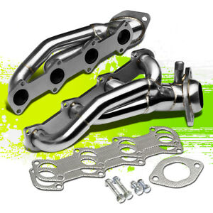 Stainless Racing Shorty Manifold Header Exhaust For 96 04 Mustang Gt 4 6 Sohc V8