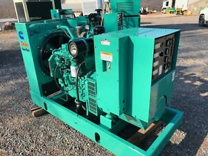 60 Kw Onan Diesel Generator Used Load Bank Tested Low Hours Ready To Ship