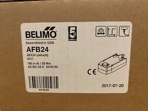 Belimo Actuator Afb24 New Unused
