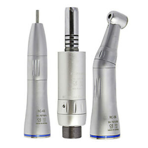 Dental Low Speed Handpiece Inner Straight Contra Angle Air Motor B2 M4 W