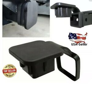 2 Trailer Tow Hitch Receiver Cover Plug Dust Cap Fit Nissan Honda Chevrolet
