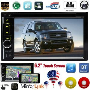 For 2002 2006 Ford Expedition Explorer Lincoln Car Radio Stereo Touchscreen