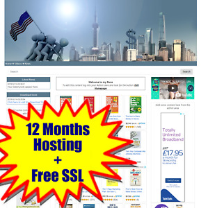 Ready Made Amazon Affiliate Automated Business Store Any Niche Hosting Free Ssl