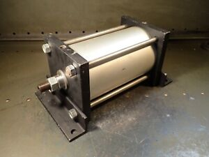 Fabco air Pancake Line Thp5x7ft mr Pneumatic Air Cylinder 5 Bore 7 Stroke Nos
