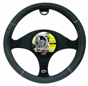 Steering Wheel Cover Grey Chrome Grey 15 To 16 Larger Steering Wheel Covers