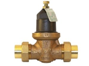 Water High Pressure Reducing Valve Connection Low Lead Adjustable Replacement