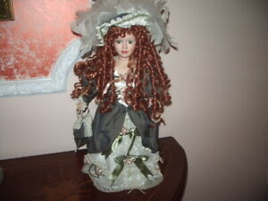 Original Kimberley Fine Genuine Porcelain Doll Special Edition With Dress