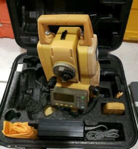 Topcon Gpt 3002w Total Station Reflectorless W 2 Batteries Bluetooth