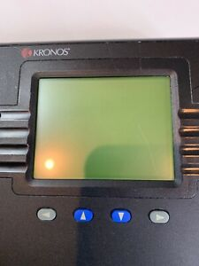 Kronos System 4500 Digital Badge Employee Time Clock For Small Buisness