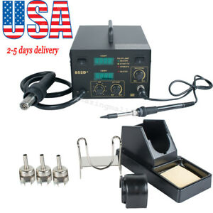 2 In1 Hot Air Gun Unit Soldering Rework Station 852d Welding Solder Machine Ups