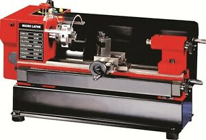 Mini Lathe Machine Swing Over Bed 110mm Distance Between Centers 125mm