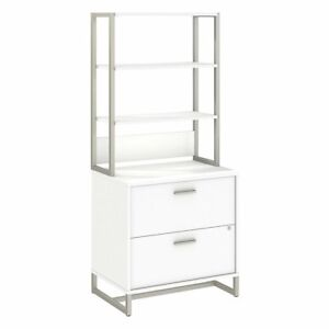 Method Lateral File Cabinet With Hutch