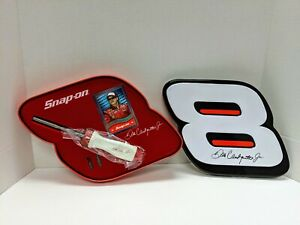 Dale Earnhardt Jr 8 Ratcheting Snap on Screwdriver With Bits Collectable Tin