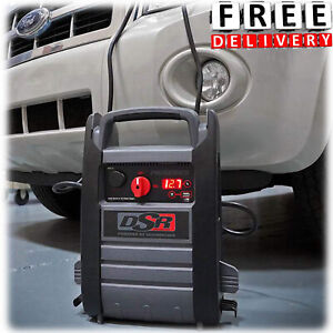 Truck Jump Starter Battery Booster Heavy Duty Pack Box Portable 2200 Amps Power