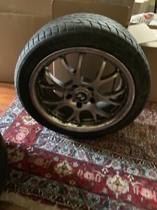 Set Of 4 18 Inch Rims And Tires For A 2003 Bmw Z3 Used