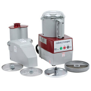 Robot Coupe R2 Dice Combination Continuous Feed Food Processor