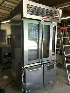 2016 Lbc Electric Lmoe8 Mini Bakery Pan Rotating Rack Oven Proofer Combo 208v 3p