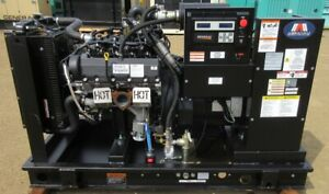 35 Kw Generac Ford Natural Gas Or Propane Generator 2 Total Hrs Mfg 2015