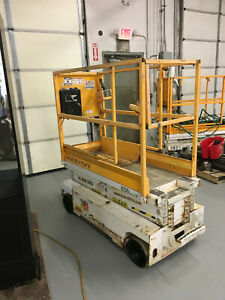 Hy brid Hb1430 20 electric Scissor Man Lift Aerial Platform 20 work Height