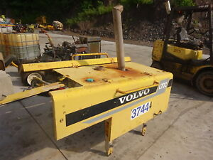 Volvo L70c Wheel Loader Hood Assy Complete Sheet Metal Doors Tin
