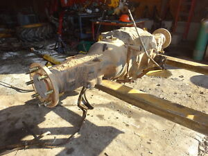 New Holland Lb75 Rear Axle Differential Assy Lb 75 Backhoe Loader Ford