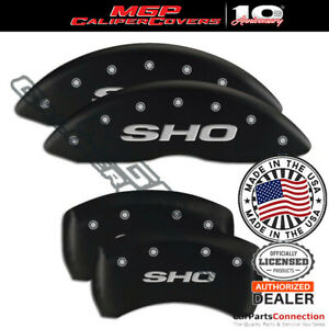 Mgp Caliper Brake Cover Matte Black 10222sshomb Front Rear For Ford Taurus 17 18