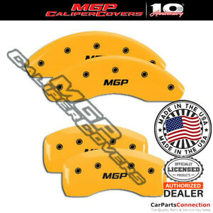 Mgp Caliper Brake Cover Yellow 11204smgpyl Front Rear For Volkswagen Golf 15 16