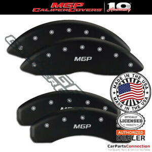 Mgp Caliper Brake Cover Matte Black 14245smgpmb Front Rear For Chevy Ss 16 17