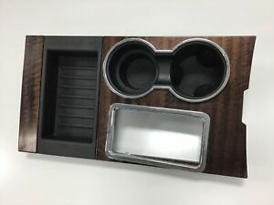 2007 Ford Expedition Center Console Shifter Trim Bezel Woodgrain
