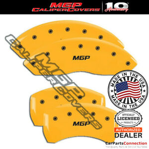 Mgp Caliper Brake Cover Yellow 22110smgpyl Front Rear For Bmw Z4 2007 2008