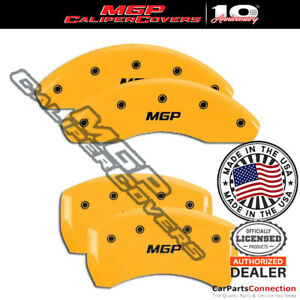 Mgp Caliper Brake Cover Yellow 23142smgpyl Front Rear For Mercedes C280 03 04