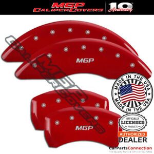 Mgp Caliper Brake Cover Red 23231smgprd Front Rear For Mercedes benz S550 16 17