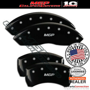 Mgp Caliper Brake Cover Black 41010smgpbk Front Rear For Jaguar S Type 2004 2005
