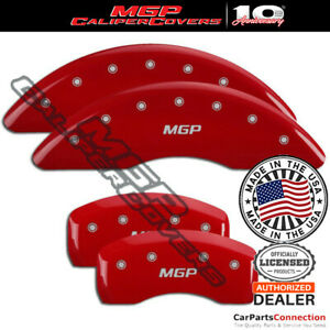 Mgp Caliper Brake Cover Red 41112smgprd Front Rear For Jaguar F Pace 2018 2019