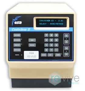 Esa Coulochem 2 Ii 5200a Electrochemical Detector Hplc