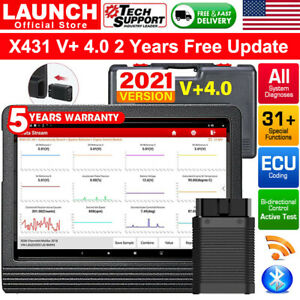 Launch Creader 981 Cr9081 Obdii Diagnostic Scanner Full System 11 Reset Function