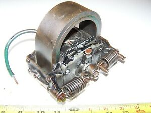 Old Webster L Hit Miss Gas Engine Magneto Ignitor Mag Steam Tractor Oiler Hot