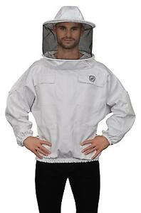 Humble Bee 510 Polycotton Beekeeping Smock With Round Veil xxx large