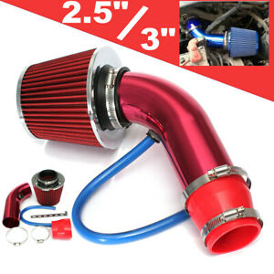 2 5 3 Universal Cold Air Intake Induction Hose Pipe Set System Filter Us