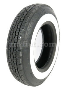 Vespa 400 440 X 10 Excelsior Whitewall Tire New