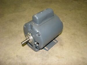 General Electric Motor 5kc33gg101ex 1 6 Hp 1725 Rpm 1 phase 115 Volt Ac