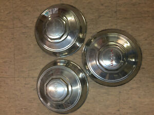 1942 48 Lincoln Continental Hubcaps
